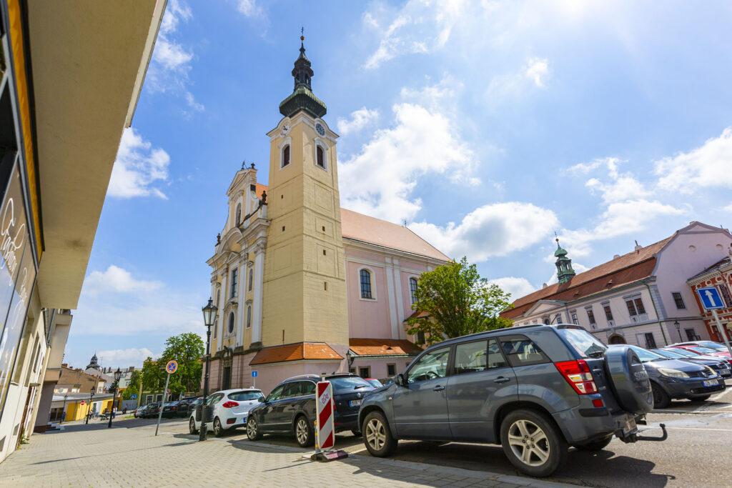 Kostel Nanebevzetí Panny Marie v Kroměříži