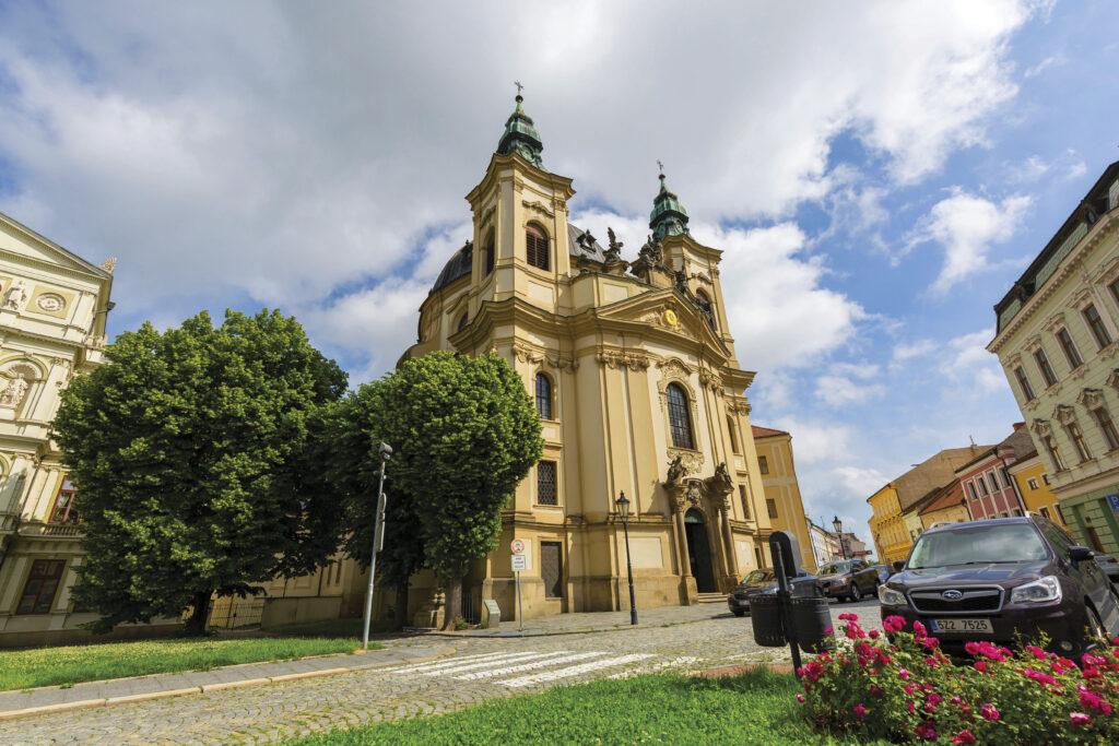 Piaristický kostel svatého Jana Křtitele v Kroměříži