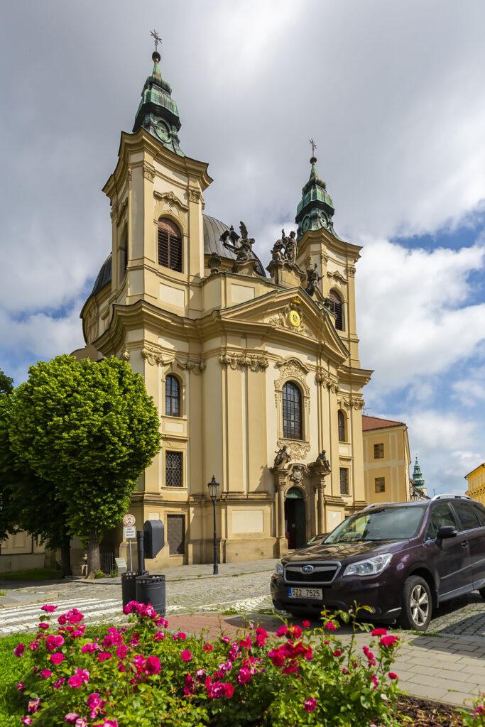 Kostel Jana Křtitele na Masarykově náměstí