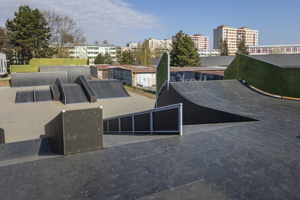 Skatepark v Kroměříži