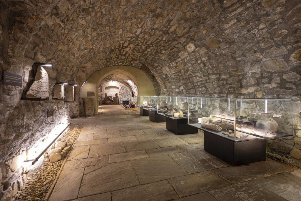 Expozice Historie ukrytá pod dlažbou města
