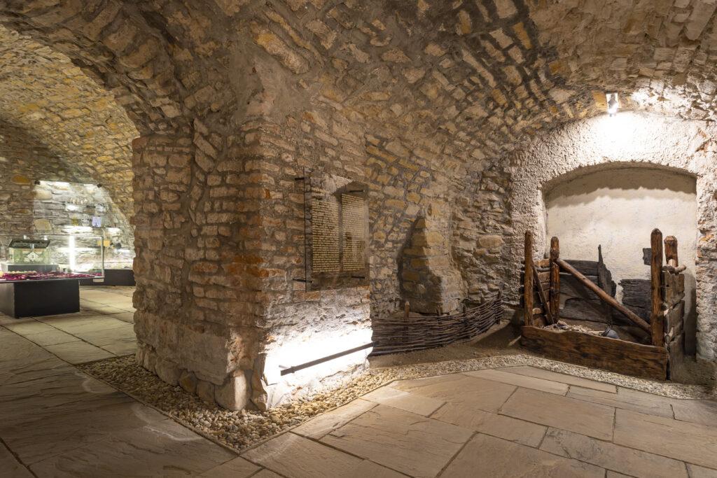 Podzemní expozice Muzea Kroměřížska