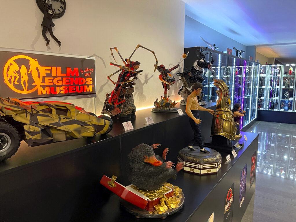 Exponáty Film Legends Museum Kroměříž