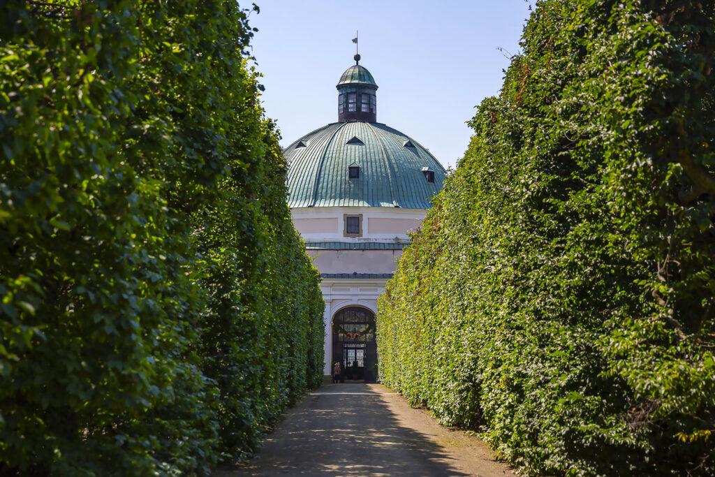 Rotunda v Květné zahradě v Kroměříži