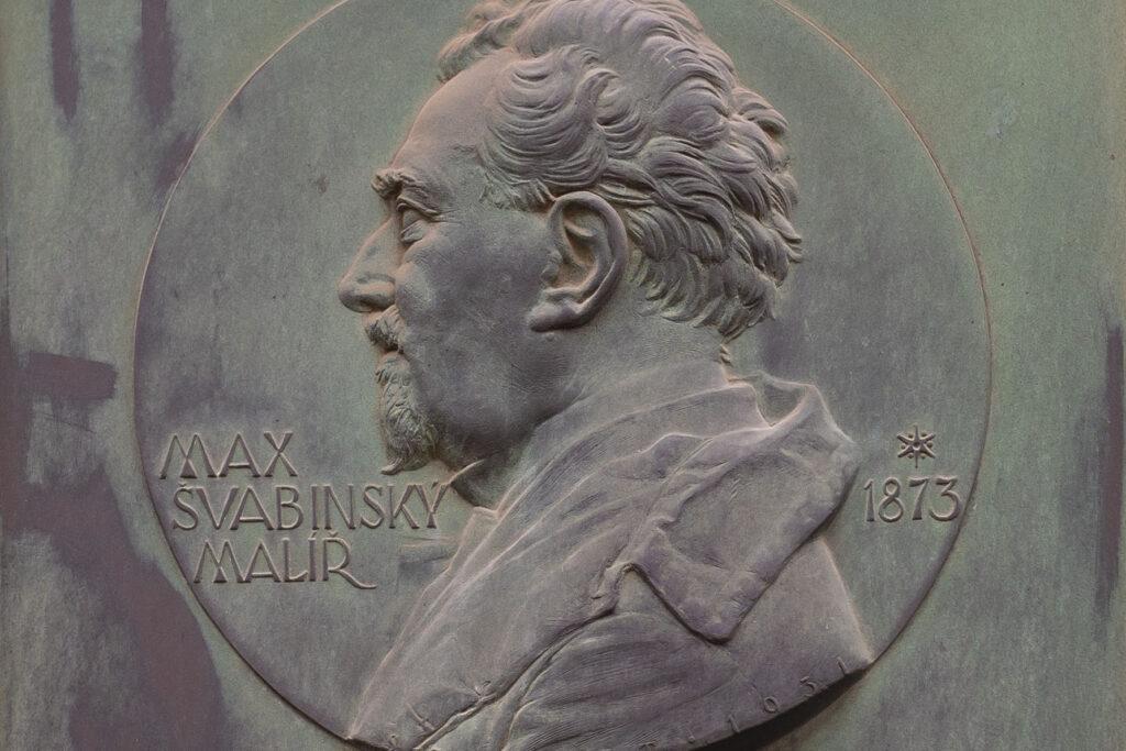 Pamětní deska Maxe Švabinského