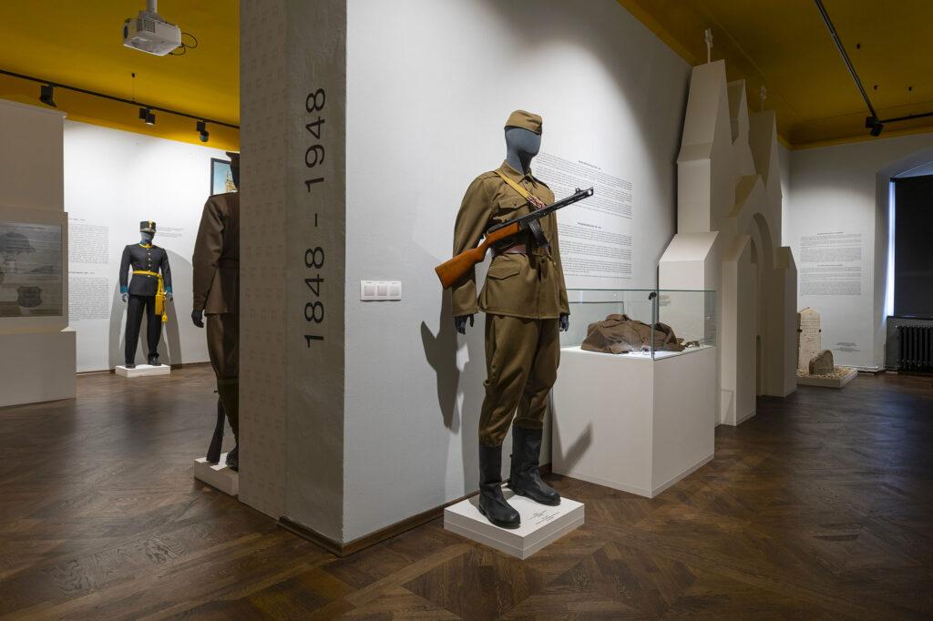Muzeum Kroměřížska, stálá expozice Kroměříž v soukolí dějin 1848 - 1948