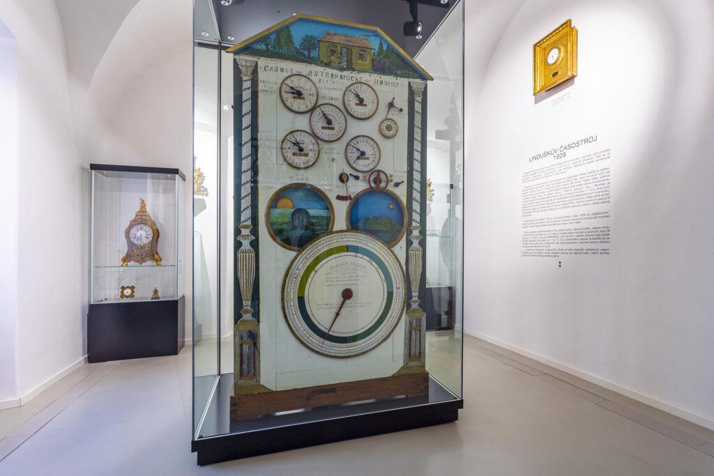 Linduškův časostroj v Muzeu Kroměřížska