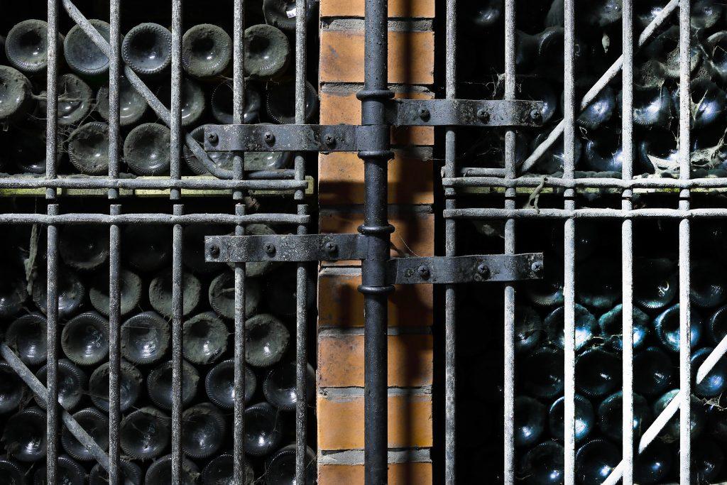 Uskladněné lahve archivního vína