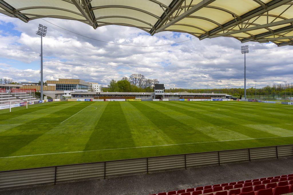 Fotbalový stadion klubu SK Hanácká Slavia Kroměříž