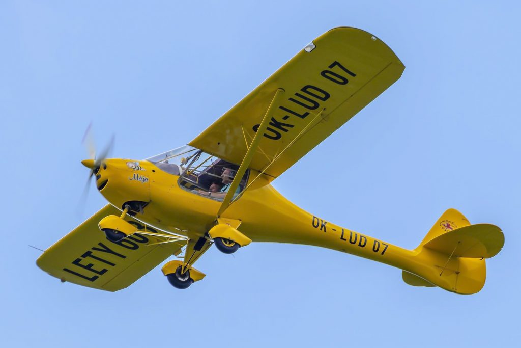 Letadlo při vyhlídkovém letu