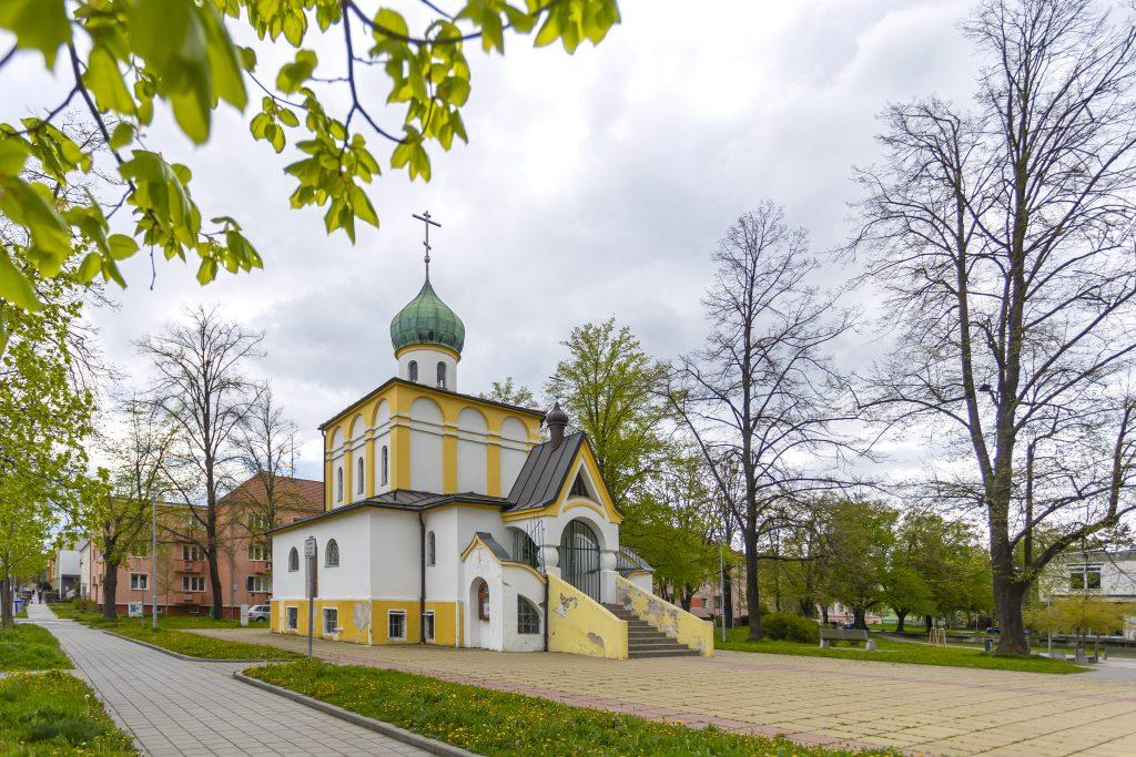 Pravoslavný kostel svatých Cyrila a Metoděje na Slovanském náměstí