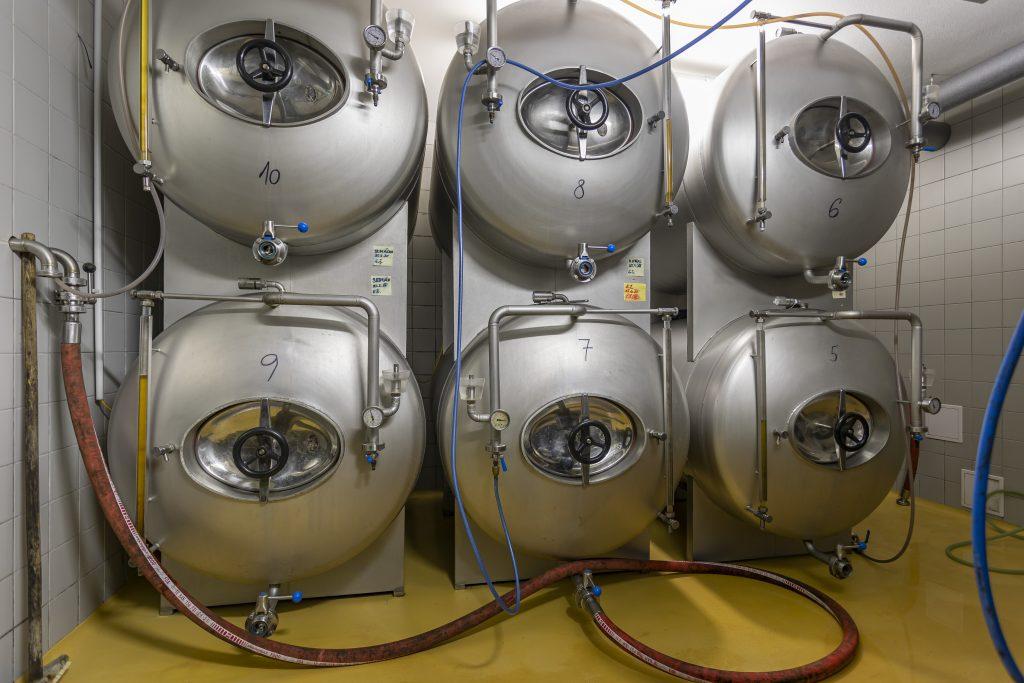 Tanky s pivem