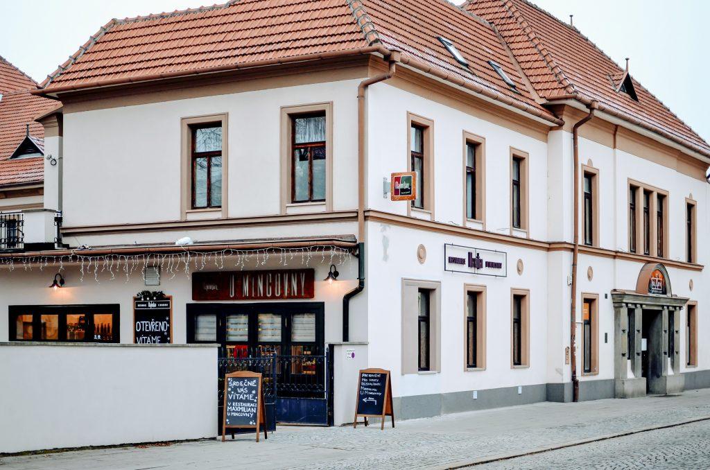 Budova restaurace Maxmilian u mincovny